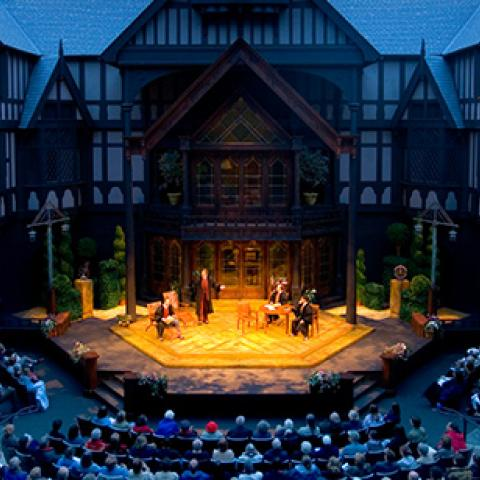 Allen Elizabethan Theater, Ashland Oregon